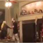 بالفيديو: شاب يحطم تلفزيون والدته.. والسبب!