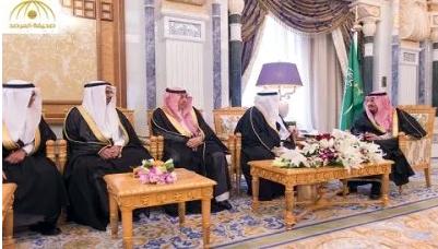 بالصور: السفراء المعينون لدى المغرب وموريتانيا وكوريا يؤدون القسم أمام الملك سلمان