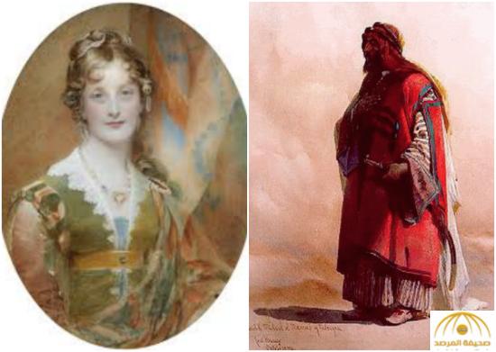 بالصور : تعرف على قصة أميرة أوروبية رفضت الملوك وتزوجت عربياً بدوياً