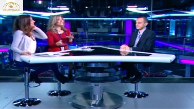 فيديو.. موقف محرج لمذيعة لبنانية دون الانتباه أنها على الهواء