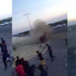 بالفيديو :حادث تفحيط يودي بحياة عشريني بالقطيف