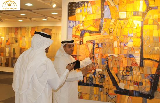 """بالصور:الفنان """"فهد خليف"""": انتمي للمدرسة الرمزية..وأرفض رسم ذوات الأرواح لهذا السبب!"""