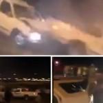 """بالفيديو:القبض على """"درباوي"""" وتحديد هوية آخرين يمارسون التفحيط ويحملون السلاح بالدمام"""
