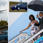 بالصور والفيديو:شاهد لحظة وصول أوباما إلى كوبا في أول زيارة لرئيس أمريكي منذ 88 عاماً