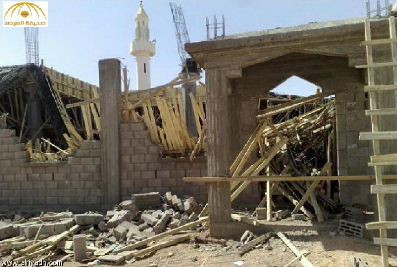 مسجد متعثر منذ 15 عاما