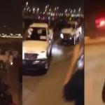 بالفيديو:تفحيط واصطدام متعمد وإطلاق نار بالأحساء