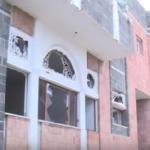 فيديو يوثق مشاهد من داخل قصر المخلوع صالح في تعز