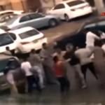 """بالفيديو:""""هوشة مصارية """" في الكويت"""