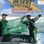 يزيد الراجحي يحقق أفضل انجاز سعودي في تاريخ الرالي في صحراء أبو ظبي