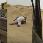 بالفيديو:سعودي يدخل في مشاجرة مع وافد تعدّى على آخر