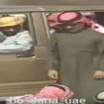 فيديو نادر للشيخ زايد وهو يرمي على رأس محمد بن زايد برتقالة