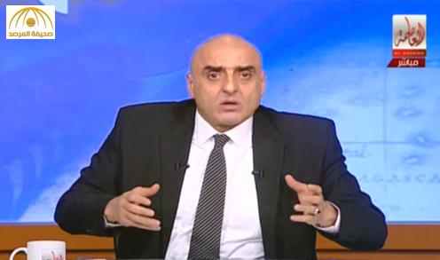 """إعلامي مصري لـ""""صباحي"""": يا غبي يا بتاع الخمارات- فيديو"""