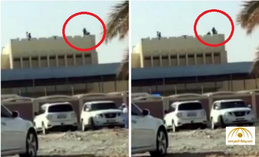 بالفيديو:رجل أمن يمنع فتاة من الانتحار على طريقة أفلام الأكشن