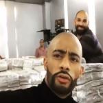بالفيديو:الفنّان محمد رمضان يكشف سرّ خزنته المليئة بالملايين !