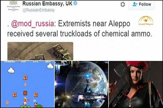 """بالصور: سخرية من روسيا بعد التغريد بمشهد من لعبة فيديو لـ """"توضيح ما يحدث في سوريا"""""""