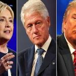 """خطة ترامب الجديدة عنوانها """"كلينتون المتحرش بالنساء"""""""