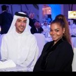 """بالفيديو: جانيت جاكسون  """"زوجة الملياردير القطري """" تزف خبرا سعيدا وتتلفظ بالعربية!"""