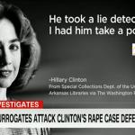 قضية اغتصاب لطفلة قبل 40 سنة تطارد حملة هيلاري كلينتون الانتخابية