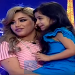"""بالفيديو:""""نهى نبيل"""" تفاجأ بابنتها في أولى حلقات برنامجها الجديد"""