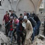 رويترز: مقتل 60 مدنياً بضربات جوية روسية في إدلب بسوريا