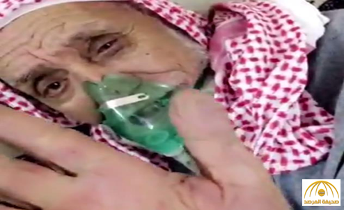 بالفيديو: مسن على فراش المرض..أشجع الأهلي حتى الموت