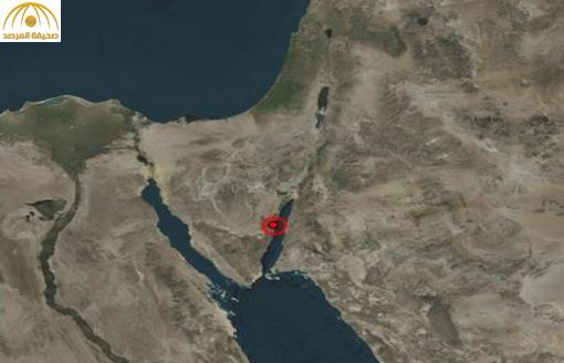 زلزال يضرب مصر والأردن  والسعودية بقوة 4.8