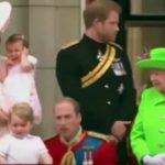 شاهد .. الملكة اليزابيث تحرج حفيدها أمام الآلاف بعيد ميلادها التسعين