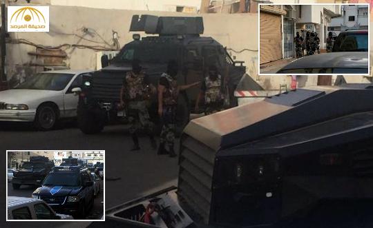 بالصور: عملية أمنية تطيح بـ 3 مطلوبين بالمدينة المنورة