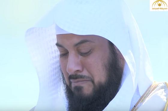 """بالفيديو:الشيخ """"العريفي""""يبكي متأثراً بحديث الشيخ """"العوضي"""""""