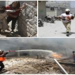 مجزرة في إدلب.. أسر بكاملها وأطفال خطفت أنفاسهم-صور
