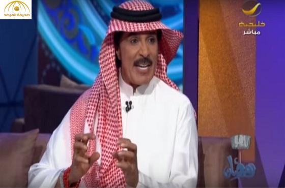 بالفيديو.. عبدالله بالخير  يروي قصة بداياته الفنية ويوضح سبب مغازلته هيفاء وهبي