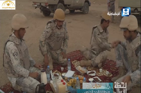 بالفيديو و الصور:لحظات إفطار المرابطين..أذان وتناوب حراسة وصلاة ودعاء
