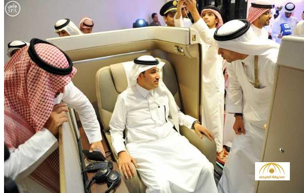 """بالصور : شاهد مقاعد الدرجة الأولى في طائرة الخطوط السعودية  الجديدة """"بوينج 777"""""""