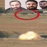 شاهد: استهداف تجمع لجنود حزب الله بصاروخ تاو على جبهة خان طومان