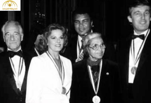 بالصور: ما هو تاريخ محمد علي كلاي ودونالد ترامب؟