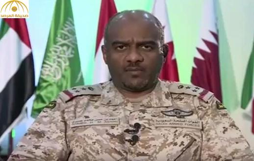 """بالفيديو..عسيري: لدينا وثائق تخاطب الأمم المتحدة فيها الحوثيين بـ""""معالي الوزير"""".. وهذه رسالة لهم """"أن استمروا"""""""