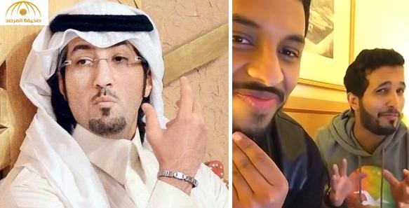 """فيديو..بن نحيت : المسيء للابن عبدالمحسن هو الآن """"مكلبش"""" وفي السجن!"""