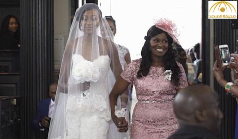 بالفيديو : شاهد رد فعل عريس يرى عروسه بفستان الزفاف