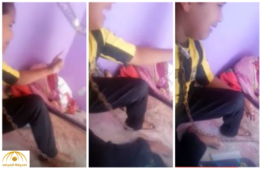 التنمية الإجتماعية تكشف ملابسات مقطع الفيديو للطفل المكبل بالسلاسل في عنقه – فيديو