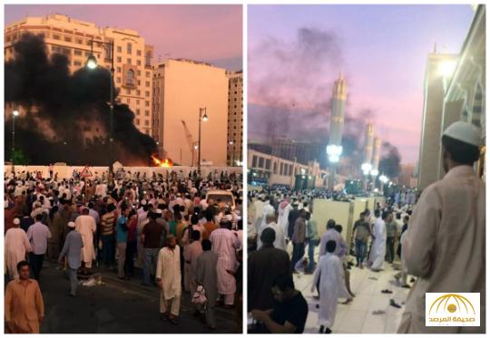 استشهاد 4 من رجال الأمن في التفجير قرب الحرم النبوي