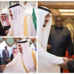 بالصور:خادم الحرمين يستقبل رئيس باكستان ورئيس جمهورية القمر ورئيس الوزراء الصومالي