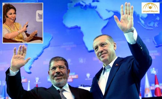شاهد..فجر السعيد تزغرد وتصرخ: مصير مرسي ينتظرك يا أردوغان