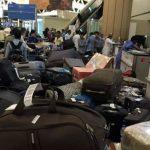 مدير مطار الرياض يكشف سر تكدس العفش في الصالتين الداخلية والدولية للخطوط السعودية-فيديو