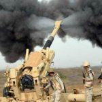قصف حوثيين حاولوا الاقتراب من الحدود السعودية