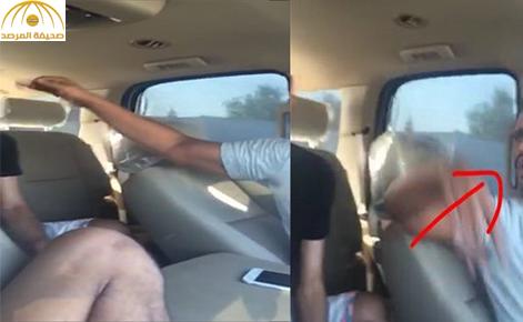 بالفيديو: سعودي يتعرض للضرب من قبل شباب في الكويت بتحريض من فتاة