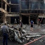"""82 قتيلاً و200 جريح بتفجيرين في بغداد..و""""تنظيم داعش"""" يتبنى-فيديو"""