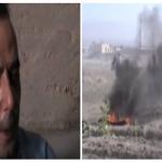 بالفيديو: إسقاط مقاتلة تابعة لجيش الأسد في سوريا.. والثوار يأسِرون الطيار