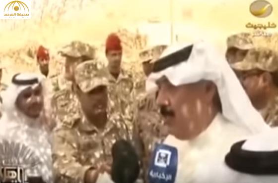 بالفيديو..متعب بن عبدالله: رجال الحرس شاركوني روحي فلماذا لا يشاركونني مالي؟