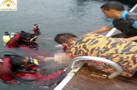 بالصور: مصرع شاب سعودي غرقاً في ماليزيا خلال قضائه عطلة عيد الفطر مع عائلته