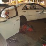 إصابة رجلي أمن في تفجير انتحاري قبالة القنصلية الأمريكيه بجدة ــ صور وفيديو